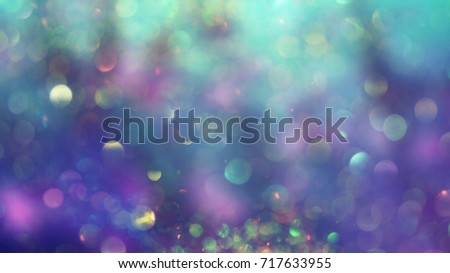 Abstract background bokeh light