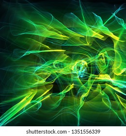abstract background with bright light