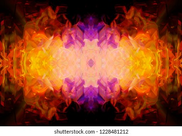 Abstract background colored illustration. Ornament pattern.
