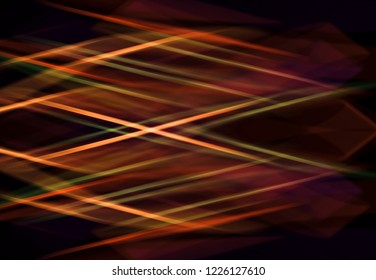Abstract background colorful with bright сrossed lines. Fashionable illustration.