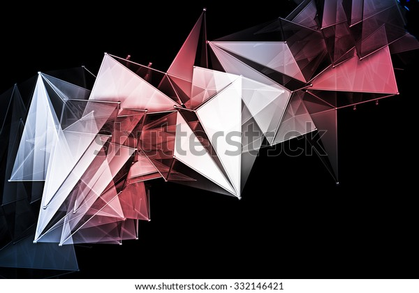 Abstract Mural Design