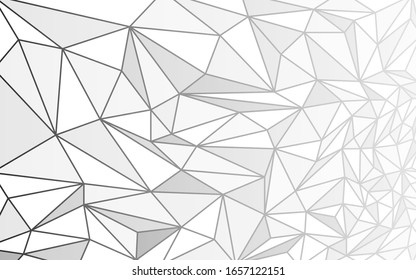 Abstract Background geometric traingles texture lowpoly grayscale