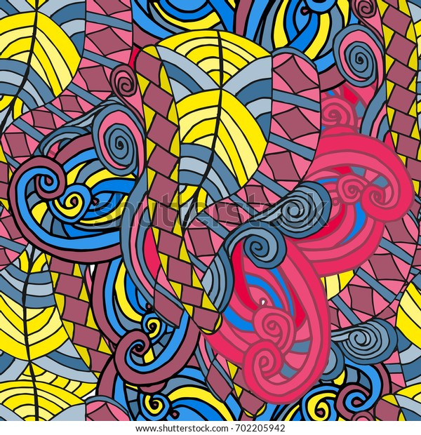 Abstract background of geometrical patterns drawing