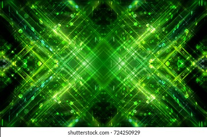 Abstract background green for design. Beautiful illustration.