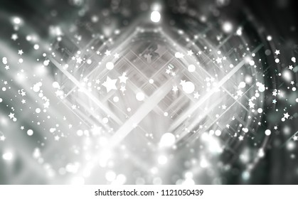 Abstract background illustration beautiful grey glitter.