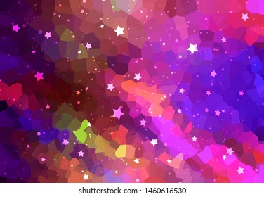 Abstract background illustration beautiful pink glitter.