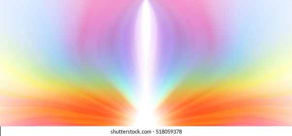Abstract background image about the positive energy of the flower color. Spiritual.