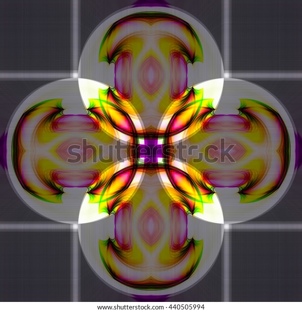 Abstract background Laser light multicolored pattern for design