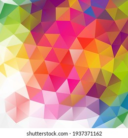 abstract background mosaic triangle geometric