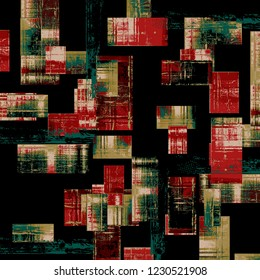 Abstract background .art multi colored texture strokes paints with different brushes. For textile printing. A