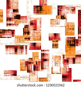 Abstract background .art multi colored texture strokes paints with different brushes. For textile printing. B