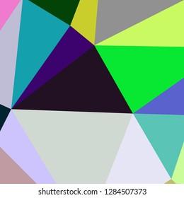Abstract background multicolored geometric poligonal.