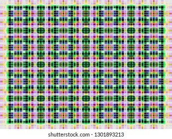 abstract background. multicolored weave pattern. simple checkered texture. geometric plaid illustration for wallpaper textiles fabric garment gift wrapping paper or fashion concept design