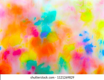 Abstract background painting.Colorful backdrop.