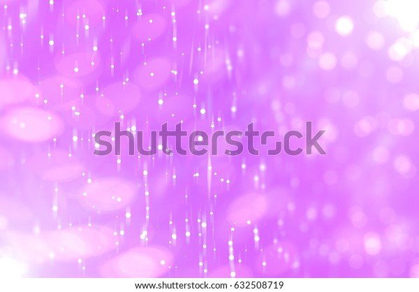 abstract background pink bokeh circles. Beautiful background with particles. elegant illustration