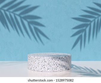 abstract background for product presentation, podium display, minimal pastel 3d scene, 3d rendering.
