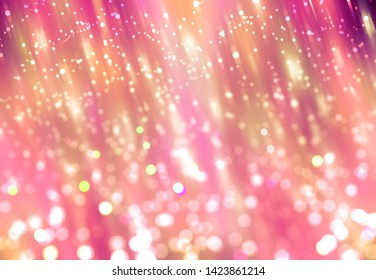 abstract background purple bokeh circles. beautiful illustration. de focused.