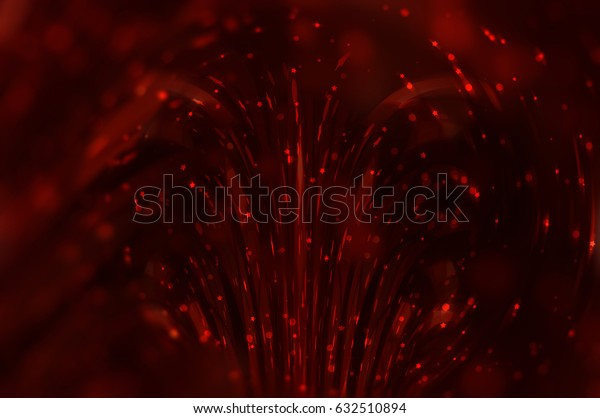 abstract background red bokeh circles. Beautiful background with particles. elegant illustration