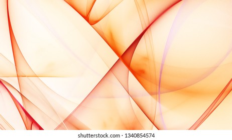 Abstract background with red smooth lines