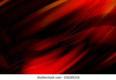 abstract background - red wave