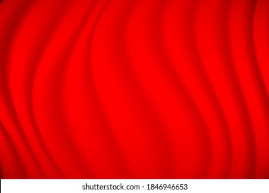 Abstract Background Red wave silk BG