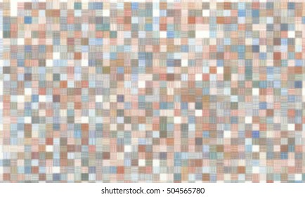 abstract background shading colored pencils in the shape of squares