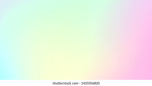 Abstract background. Soft cloud colorful in pastel gradient
