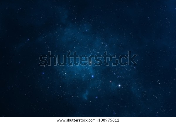 Abstract background - Starry night, space, universe and galaxy, the Milky way
