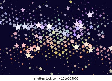 Abstract background with stars. Halftone effect. Design element for posters, business cards, presentations layouts, showcases. Raster clip art