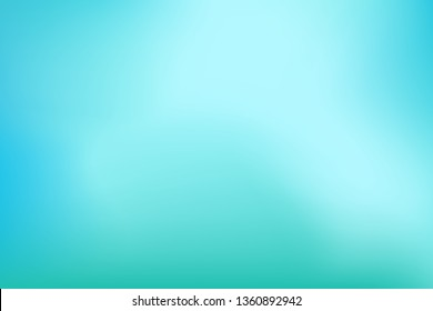 Abstract background. Teal, blue, mint, aqua, turquoise, water background for your graphic design, banner, poster. Space for text. Illustration. Raster version.