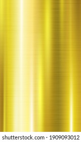 Abstract background texture metal gold with white and yellow highlights - illustration