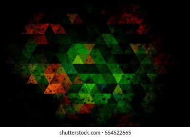 abstract background of triangles.illustration design background.