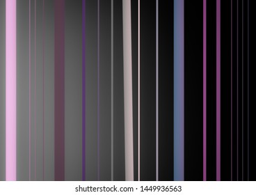 Abstract background with vertical colorful stripes of different sizes.