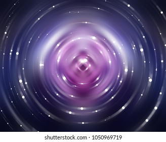 Abstract background violet light circle. Illustration for design.