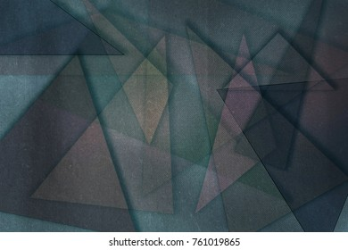 Abstract background wallapaper made of transparent triangles