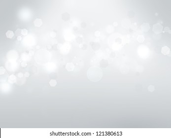 abstract background with a white light blur