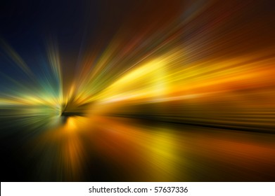 Abstract background in yellow, orange and brown tones.