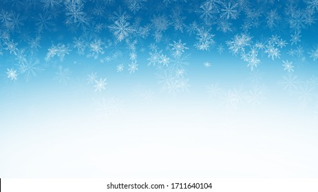 Abstract Backgrounds snow on blue backgrounds , illustration wallpaper