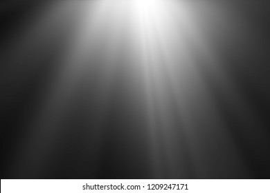 abstract beautiful beams of light, rays of light screen overlay on black background.