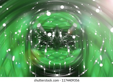 Abstract beautiful bright glitter green background. elegant illustration