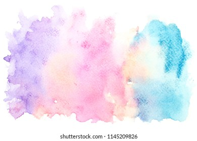 abstract beautiful watercolor splash and stroke background.color shades art by drawn