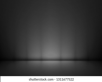 Abstract black background, can be used for valentines or Christmas design layout, studio, web template, room and report with smooth gradient color. ( Black and gray background )