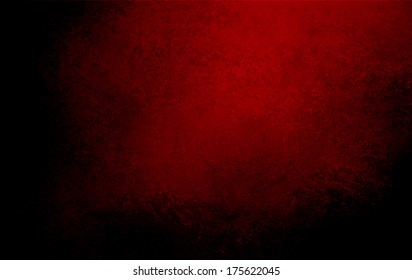 abstract black background red dramatic spotlight, rough texture or distressed vintage texture, grunge paper, wall texture, elegant brochure or website template design, painted canvas banner for web