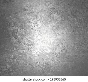 abstract black background white gray center, rough distressed vintage grunge background texture art, old faded gray white paper with black background on edges, monochrome background, black and white