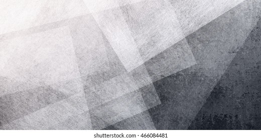 abstract black background with white triangle pattern
