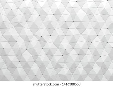 Abstract black geometric background. 3d illustration