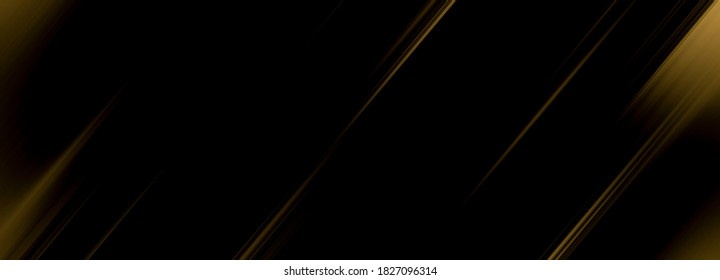 abstract black and gold are light with white the gradient is the surface with templates metal texture soft lines tech diagonal background gold dark sleek clean modern.