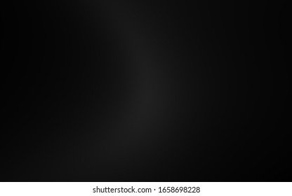 Abstract black gradient texture background. Gradation dark gray light for display your product.