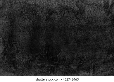 Abstract black watercolor background. Black watercolor texture. Abstract watercolor hand painted background.