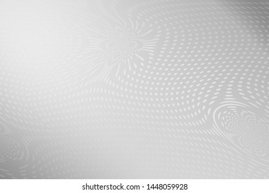 Abstract Black & White doted background illustration Stock Photo, Circle concept,
